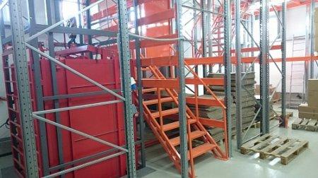 Складские стеллажи для хранения грузов - изготовление
