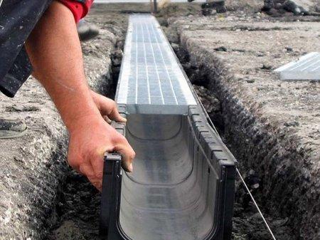 Водоотвод для загородного дома